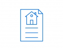 Real Estate Icons - Futuro Blue 25 Icon pack