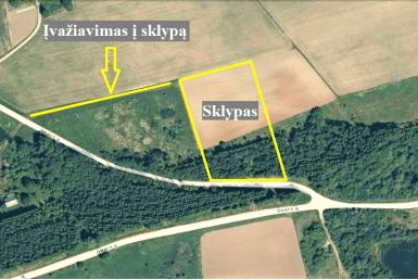 5,16 ha žemės sklypas Stirniškių k., Kupiškio r.